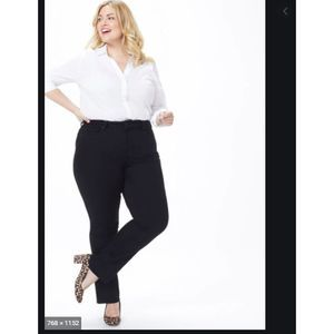 NYDJ Marilyn Straight Jeans Plus 16W NWT